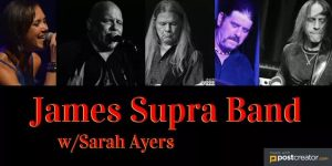 James Supra / Sarah Ayers Band @ The Shanty On 19th